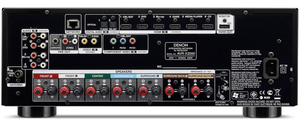 Denon-AVR-X2100W-Black-2